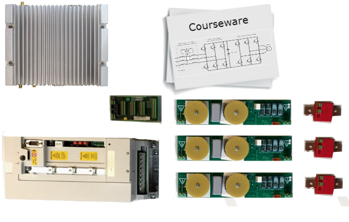 Triphase networked educational setups
